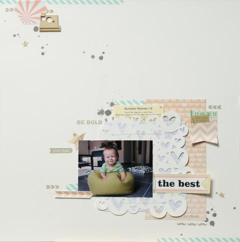The Best | Scrapperin Belle Pastel