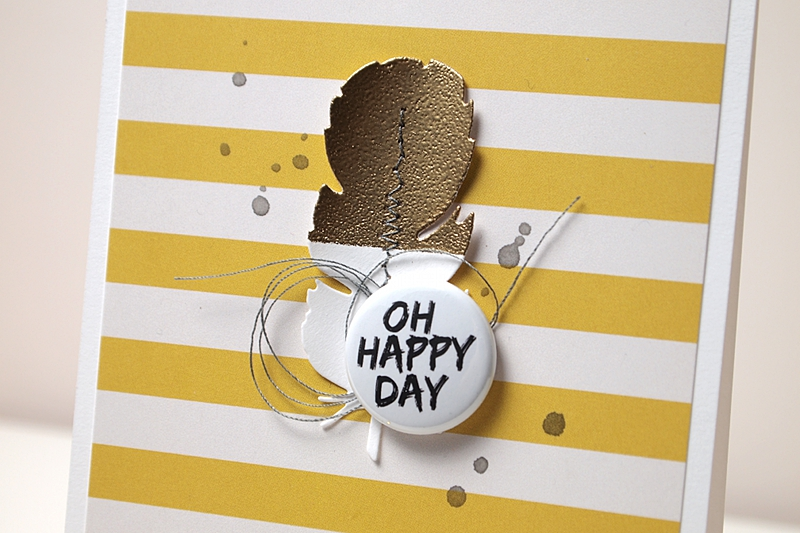 Oh Happy Day by Els Brigé for A Flair For Buttons