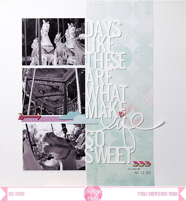 Days Like These by Els Brigé for Pinkfresh Studio