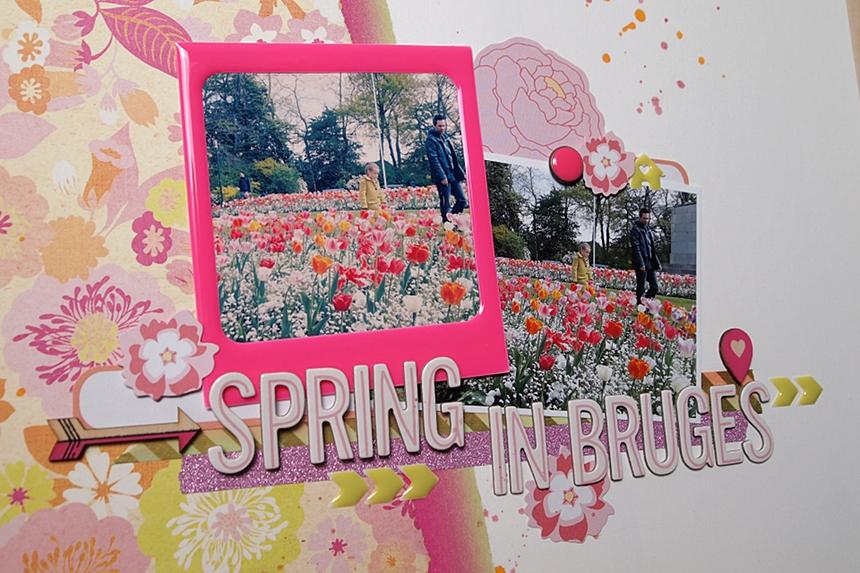 Spring In Bruges by Els Brigé for Pinkfresh Studio
