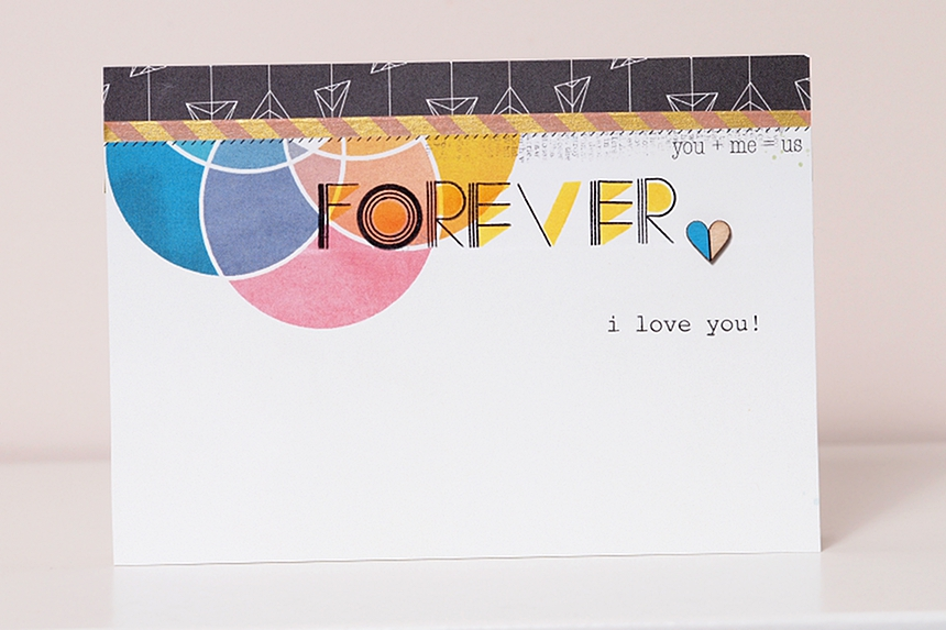 Forever by Els Brigé for Pinkfresh Studio