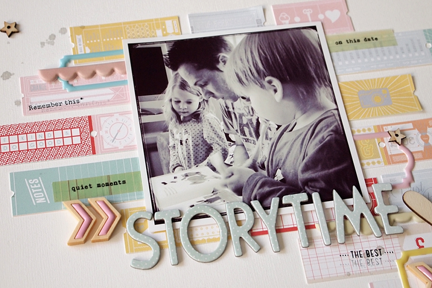 Storytime by Els Brigé for Pinkfresh Studio