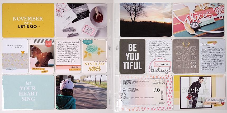Project Life | November by Els Brigé