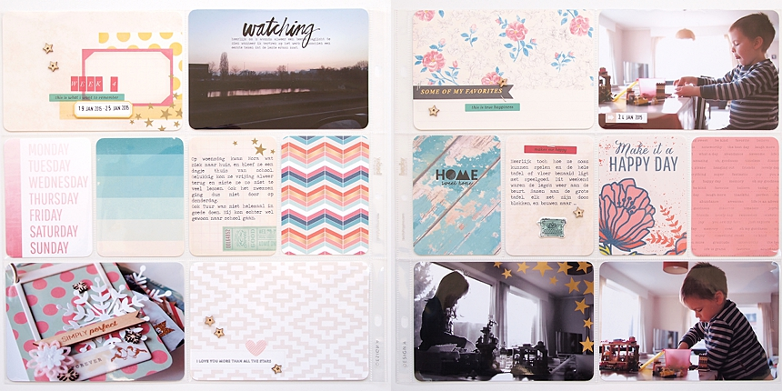 Project Life 2015   Week 4 by Els Brigé for Becky Higgins DT
