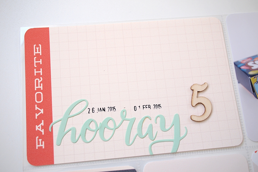 Project Life 2015   Week 5 by Els Brigé for Becky Higgins DT + video