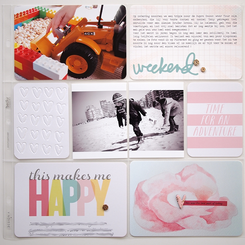 Project Life 2015   Week 10 by Els Brigé for Becky Higgins DT