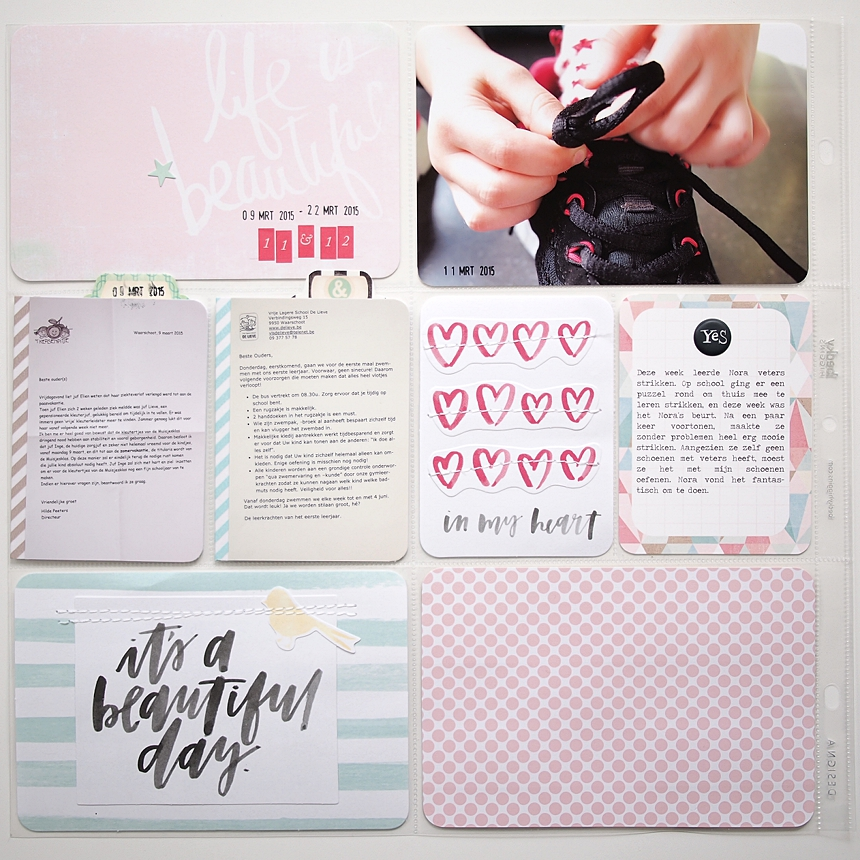 Project Life 2015 | Week 11 & 12 by Els Brigé for Becky Higgins DT