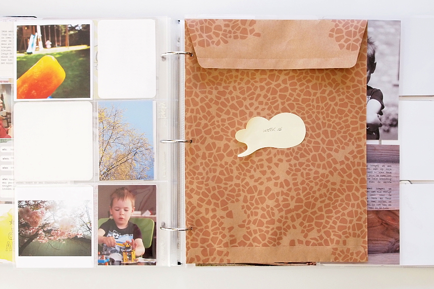 Project Life Process | Notes & Keepsakes by Els Brigé