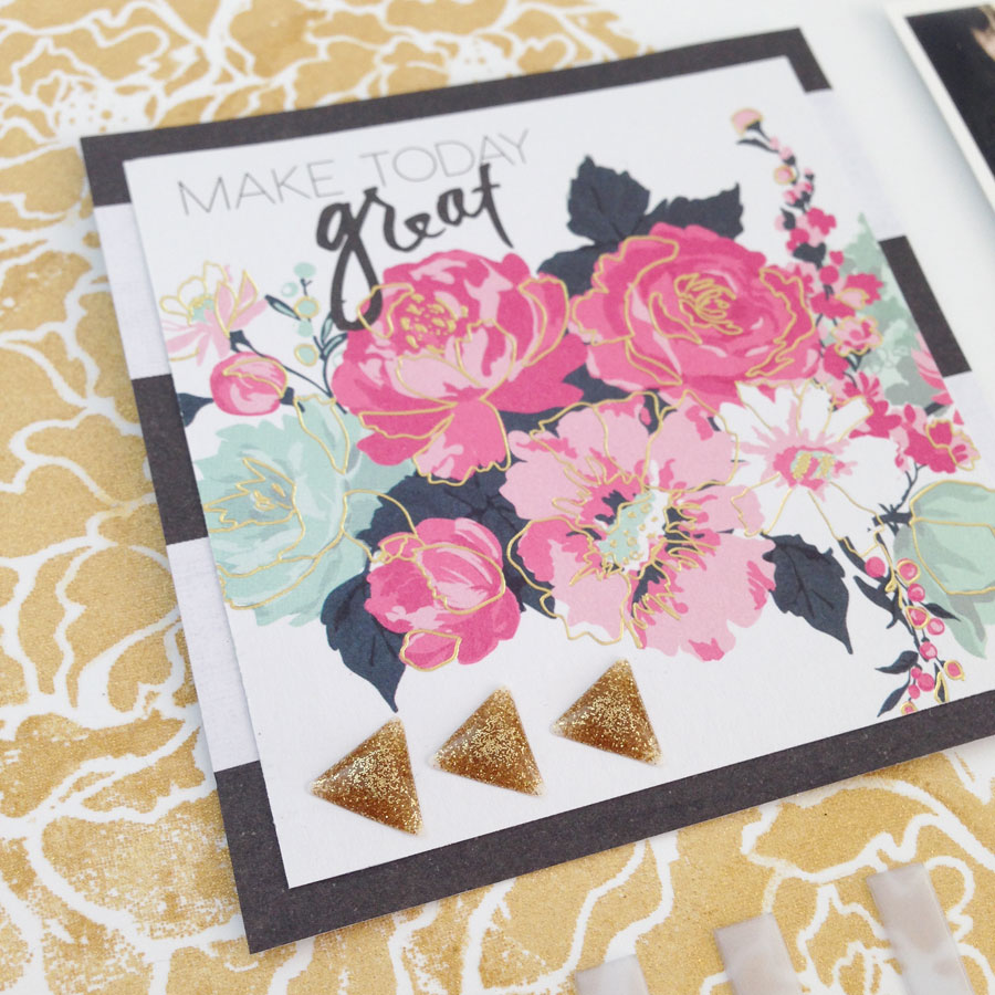 Project by Katharina Frei for Bestamped The Weekend Guest Post