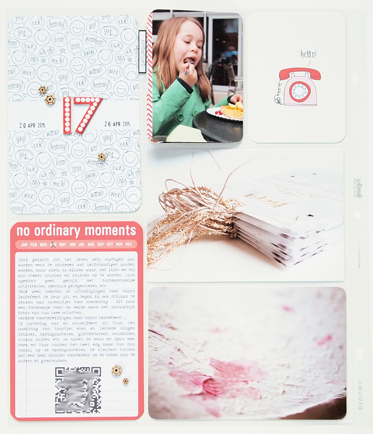 Project Life 2015 | Week 17 by Els Brigé for Becky Higgins DT
