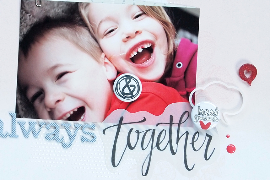 Always Together by Els Brigé for A Flair For Buttons
