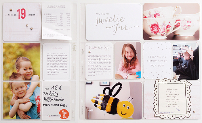 Project Life 2015   Week 19 by Els Brigé for Becky Higgins DT