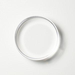 Acryl stempelblok rond 7cm