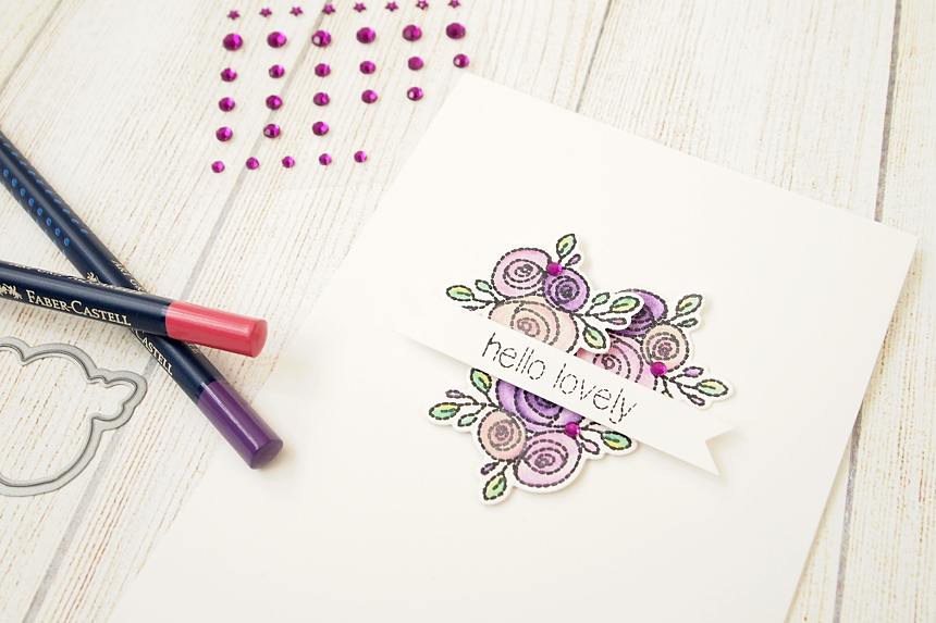 Hello Lovely by Els Brigé for Neat & Tangled