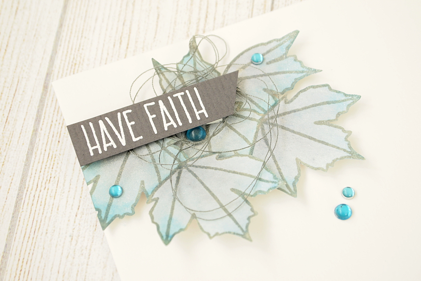 Have Faith by Els Brigé for Neat & Tangled