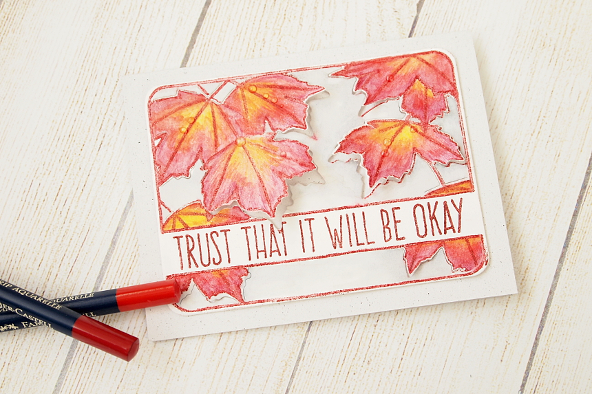 Trust That It will Be Okay by Els Brigé for Neat & Tangled