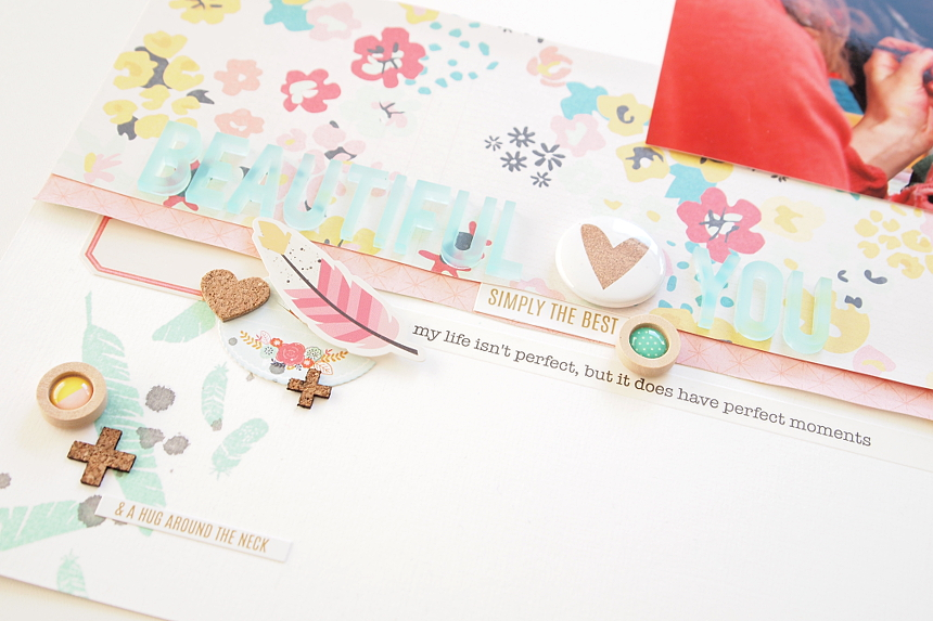 Beautiful You by Els Brigé for A Flair For Buttons DT