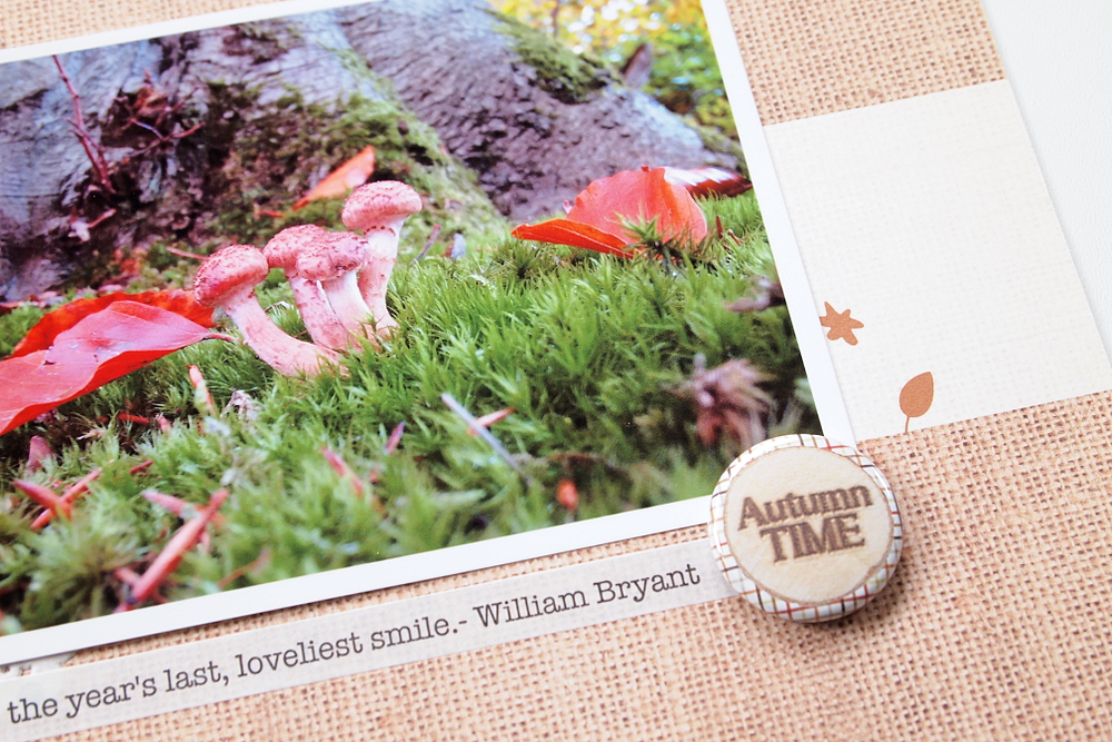Autumn Time by Els Brigé for A Flair For Buttons