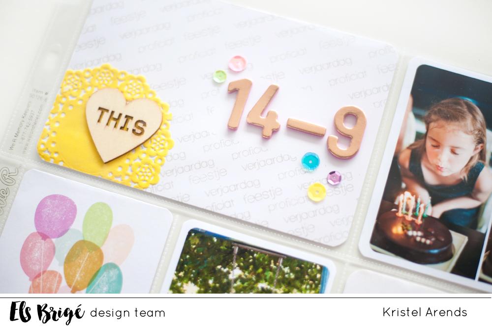 Els Brigé design verjaardagsbloghop | Kristel
