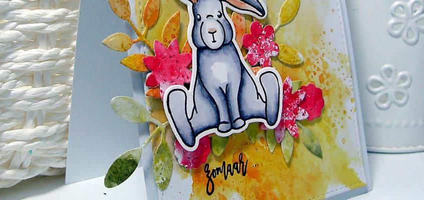 Herfstkonijn/Fall bunny | Mariken