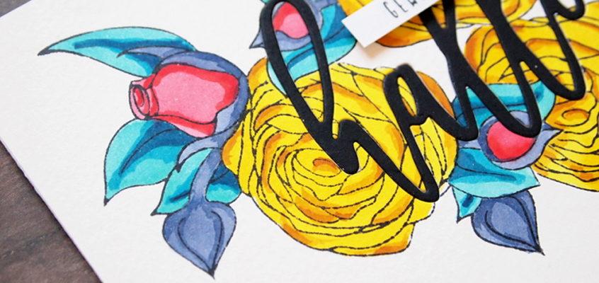 Herfstboeket/Fall bouquet + video| Els