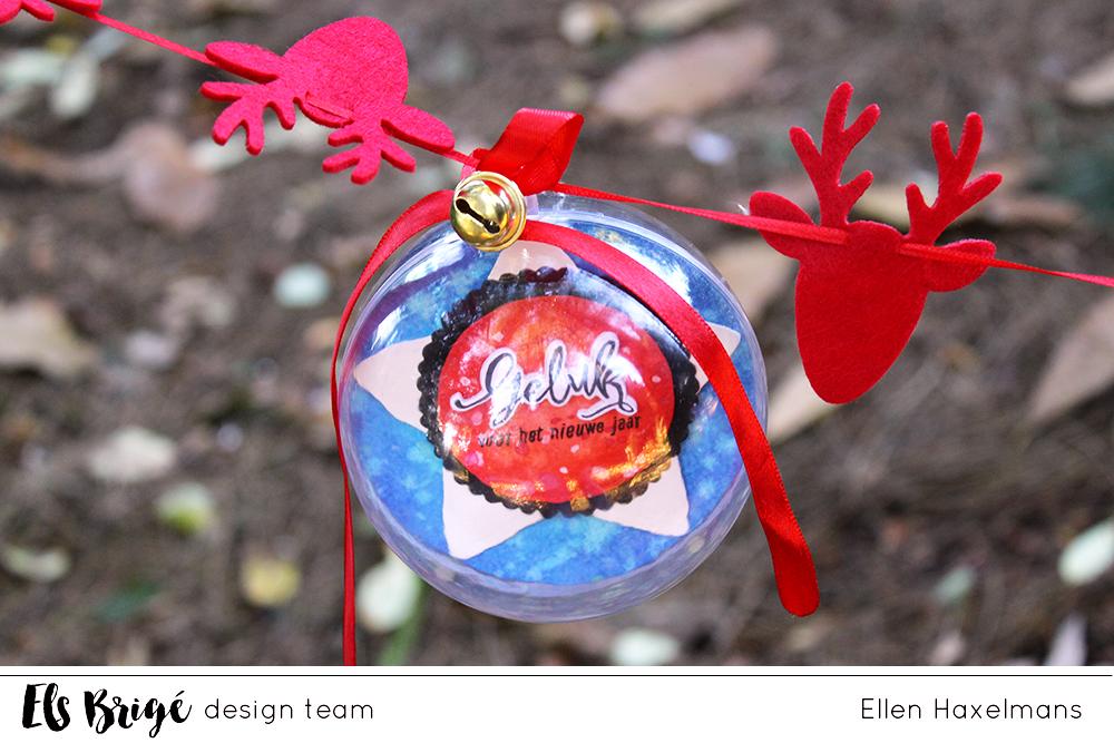 Handgemaakte kerstballen/Handmade ornaments | Ellen