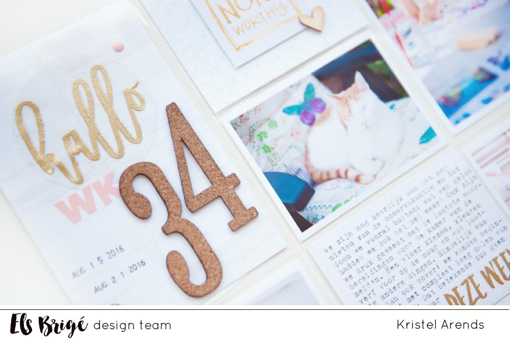 Project Life Week 34 | Kristel