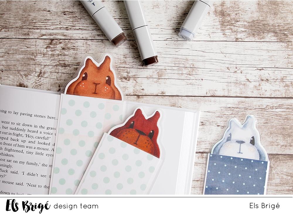Konijnboekenlegger/Bunny bookmark | Els