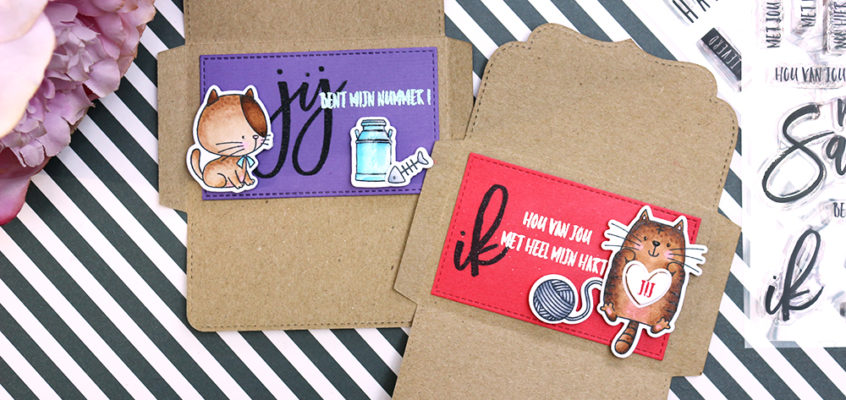 Envelop kaartjes/ Envelope cards | Ellen