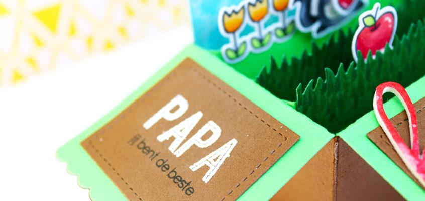 Vaderdag box kaart/Father's day box card | Ellen