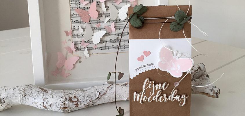 Moederdag geschenkzakje/Mother's Day gift bag | Sandra