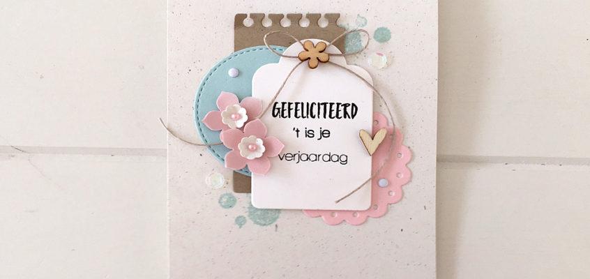 Gefeliciteerd/ Congratulations | Sandra
