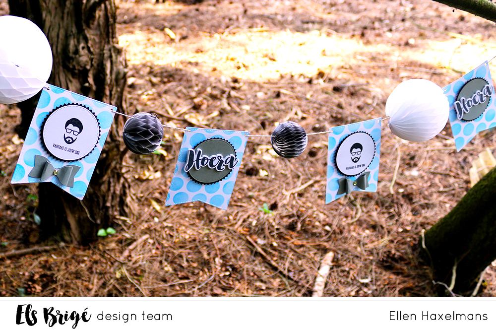 Feestslinger/Party banner | Ellen