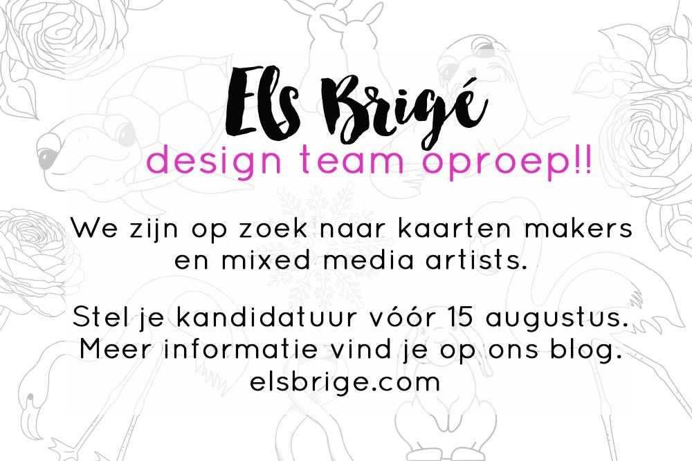 Design team oproep najaar 2017