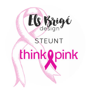 Pink ribbon Stempelset