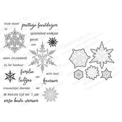 Sneeuw Stempel- & Stansset Bundel