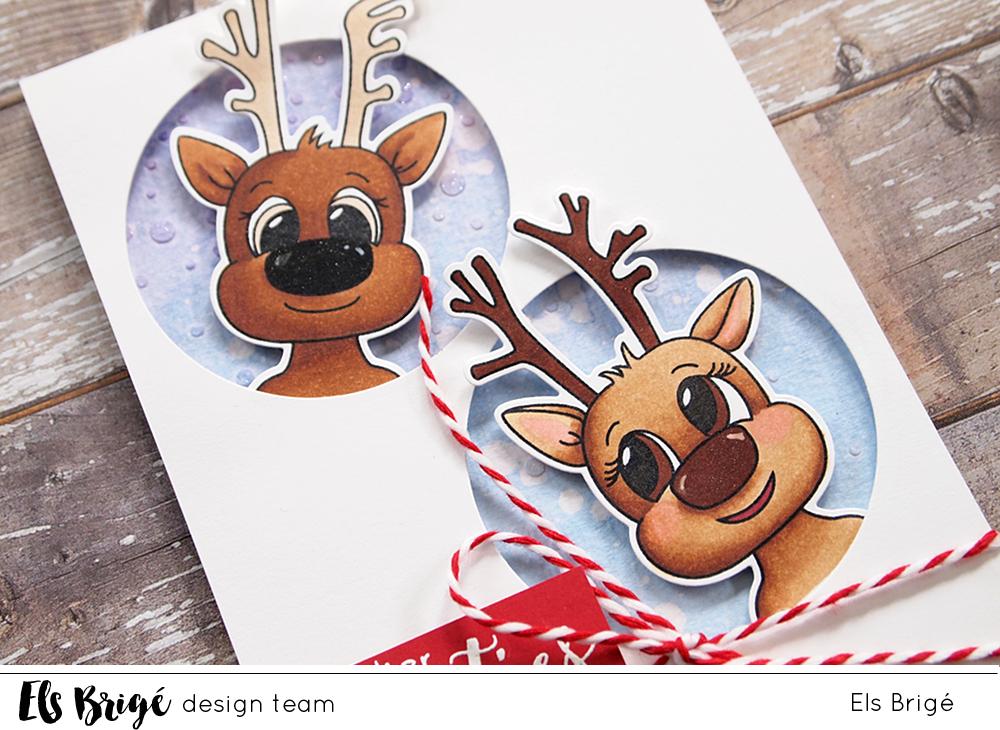 Rendiergroetjes/Reindeer greetings | Els