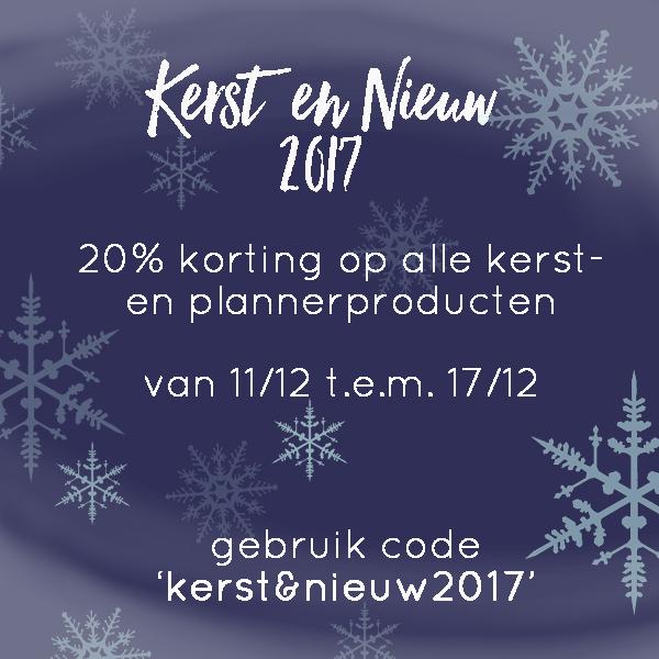Kerst&nieuw2017 korting
