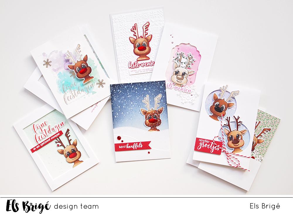 10 kleine rendiertjes …/10 little reindeer … | Els