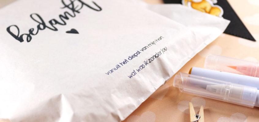 Knuffelkonijn cadeautje/Cuddle bunny present | Ellen