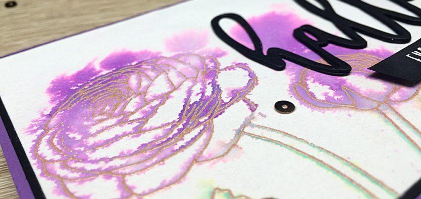 Eenvoudige aquarelkaarten/ Easy watercolor cards | Evy