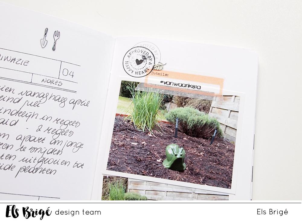Tuindagboek/Garden journal | Els