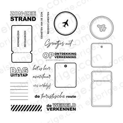 Avontuur Stempel- & Stansset Bundel