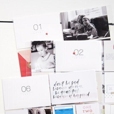 Project Life titelkaarten | Nummers